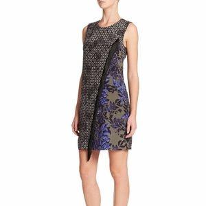 Rebecca Taylor Multicolor Silk Step Fringe Dress 2